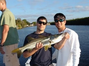 Tampa Bay Snook Fishing in the Little Manatee River