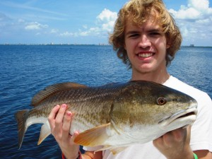 Tampa redfish fishing charter