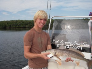 Tampa fishing guide for Redfish
