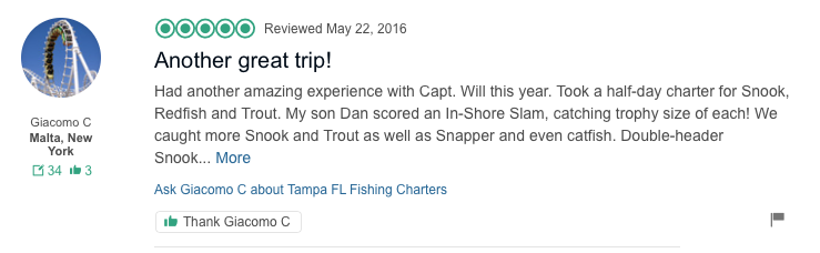 Fishing Charter Review